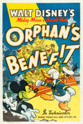 "Movie Posters:Animation, Orphan's Benefit (RKO, 1941). MP Graded One Sheet (27"" X 41"").. ..."
