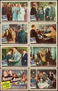 "Movie Posters:Mystery, Pursuit to Algiers (Universal, 1945). Lobby Card Set of 8 (11"" X14"").. ... (Total: 8 Items)"