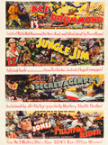 "Movie Posters:Adventure, Universal Serial Promo (Universal, 1936). Poster (36.25"" X 48"")....."
