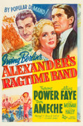 """Movie Posters:Musical, Alexander's Ragtime Band (20th Century Fox, 1938). One Sheet (27"""" X41"""") Style A.. ..."""