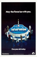 "Movie Posters:Science Fiction, Star Wars (20th Century Fox, 1978). One Sheet (27"" X 41"") HappyBirthday Style.. ..."