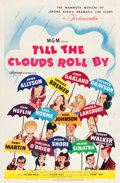 "Movie Posters:Musical, Till the Clouds Roll By (MGM, 1946). One Sheet (27"" X 41"")Hirschfeld Art Style B.. ..."