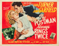 "Movie Posters:Film Noir, The Postman Always Rings Twice (MGM, 1946). Half Sheet (22"" X 28"")Style A.. ..."