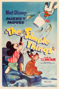 "Movie Posters:Animation, The Simple Things (RKO, 1952). One Sheet (27"" X 41"").. ..."