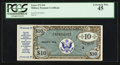 Military Payment Certificates:Series 472, Series 472 $10 PCGS Extremely Fine 45.. ...