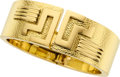 Estate Jewelry:Bracelets, Gold Bangle Bracelet, David Webb. ...