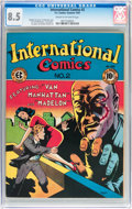 Golden Age (1938-1955):Crime, International Comics #2 (EC, 1947) CGC VF+ 8.5 Cream to off-white pages....