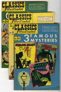 Golden Age (1938-1955):Classics Illustrated, Classics Illustrated #21-30 Group (Gilberton, 1950) Condition:Average VG/FN.... (Total: 10 Comic Books)