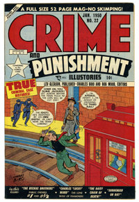 Crime and Punishment #22 Mile High pedigree (Lev Gleason, 1950) Condition: NM. Charles Biro cover. Overstreet 2006 NM- 9...