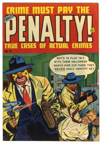 "Crime Must Pay the Penalty #30 and 35 Davis Crippen (""D"" Copy) pedigree Group (Ace, 1953). Contains ""D&qu..."