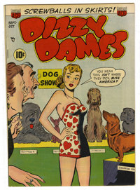 Dizzy Dames #1 Mile High pedigree (ACG, 1952) Condition: VF/NM. Ogden Whitney cover. Overstreet 2006 VF/NM 9.0 value = $...