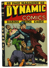 Dynamic Comics #23 Mile High pedigree (Chesler, 1943) Condition: VF-. Yankee Girl appearance. Overstreet 2006 VF 8.0 val...