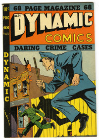 Dynamic Comics #24 Mile High pedigree (Chesler, 1948) Condition: VF+. Overstreet 2006 VF 8.0 value = $232; VF/NM 9.0 val...