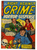 "Golden Age (1938-1955):Horror, Fight Against Crime #10 Davis Crippen (""D"" Copy) pedigree (StoryComics, 1952) Condition: VG. Crime stories with a horror tw..."