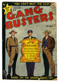"Golden Age (1938-1955):Crime, Gang Busters #6 Davis Crippen (""D"" Copy) pedigree (DC, 1948) Condition: GD+. Dan Barry cover art. Barry, Nick Cardy, and Win..."