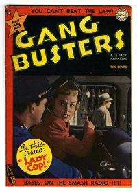 "Gang Busters #9 Davis Crippen (""D"" Copy) pedigree (DC, 1949) Condition: FN/VF. Photo cover. Curt Swan, Dan Bar..."