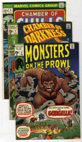 Bronze Age (1970-1979):Horror, Marvel Bronze Age Horror Group (Marvel, 1969-74).... (Total: 14Comic Books)