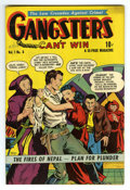 """Golden Age (1938-1955):Crime, Gangsters Can't Win #8 Davis Crippen (""""D"""" Copy) pedigree (D.S. Publishing, 1949) Condition: VF+. Overstreet 2006 VF 8.0 valu..."""