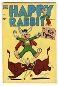 "Golden Age (1938-1955):Funny Animal, Happy Rabbit #41 Davis Crippen (""D"" Copy) pedigree (Standard, 1951)Condition: VF-. Overstreet 2006 VF 8.0 value = $37. Fr..."