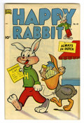 "Golden Age (1938-1955):Funny Animal, Happy Rabbit #43 Davis Crippen (""D"" Copy) pedigree (Standard, 1951)Condition: VF+. Overstreet 2006 VF 8.0 value = $27; VF/N..."