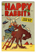 "Golden Age (1938-1955):Funny Animal, Happy Rabbit #44 Davis Crippen (""D"" Copy) pedigree (Standard, 1951)Condition: VF. Overstreet 2006 VF 8.0 value = $27. Fro..."