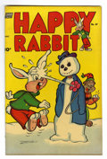 "Golden Age (1938-1955):Funny Animal, Happy Rabbit #47 Davis Crippen (""D"" Copy) pedigree (Standard, 1952)Condition: VF+. Overstreet 2006 VF 8.0 value = $27; VF/N..."
