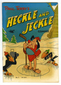 "Golden Age (1938-1955):Funny Animal, Heckle and Jeckle #3 (#1) Davis Crippen (""D"" Copy) pedigree (St.John, 1952) Condition: VF-. First issue of the series. All ..."