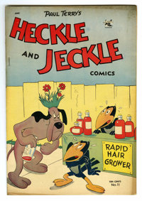 """Heckle and Jeckle #11 Davis Crippen (""""D"""" Copy) pedigree (St. John, 1953) Condition: VF-. Overstreet 2006 VF 8..."""