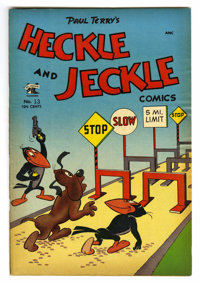 """Heckle and Jeckle #13 Davis Crippen (""""D"""" Copy) pedigree (St. John, 1953) Condition: VF-. Overstreet 2006 VF 8..."""