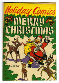 "Holiday Comics #8 Davis Crippen (""D"" Copy) pedigree (Star Publications, 1952) Condition: VF-. Christmas cover..."