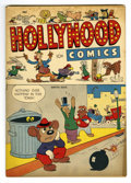 "Golden Age (1938-1955):Funny Animal, Hollywood Comics #1 Davis Crippen (""D"" Copy) pedigree (New AgePublishers, 1944) Condition: VF. Overstreet 2006 VF 8.0 value..."