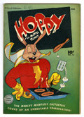 "Golden Age (1938-1955):Funny Animal, Hoppy the Marvel Bunny #12 Davis Crippen (""D"" Copy) pedigree(Fawcett, 1947) Condition: VF. Overstreet 2006 VF 8.0 value = $..."