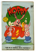 "Golden Age (1938-1955):Funny Animal, Hoppy the Marvel Bunny #14 Davis Crippen (""D"" Copy) pedigree(Fawcett, 1947) Condition: VF-. Overstreet 2006 VF 8.0 value = ..."