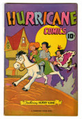 "Golden Age (1938-1955):Funny Animal, Hurricane Comics #1 Davis Crippen (""D"" Copy) pedigree (CambridgeHouse/Superior Publishers, 1945) Condition: VF+...."