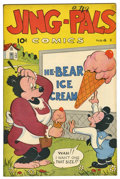 "Golden Age (1938-1955):Funny Animal, Jing-Pals #4 Davis Crippen (""D"" Copy) pedigree (Victory, 1946)Condition: VF. A Gerber ""white space!"" Overstreet 2006 VF 8.0..."