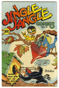 "Golden Age (1938-1955):Humor, Jingle Jangle Comics #11 Davis Crippen (""D"" Copy) pedigree (Eastern Color, 1944) Condition: VF+. Overstreet 2006 VF 8.0 valu..."
