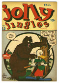 "Golden Age (1938-1955):Humor, Jolly Jingles #15 Davis Crippen (""D"" Copy) pedigree (MLJ, 1944) Condition: VF-. Bill Vigoda cover art. Overstreet 2006 VF 8...."