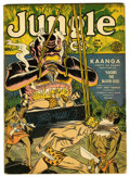 Golden Age (1938-1955):Adventure, Jungle Comics #25 (Fiction House, 1942) Condition: FN+. Called V2#1 on cover. Dan Zolnerowich bondage cover. Overstreet 2006...