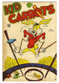 "Golden Age (1938-1955):Funny Animal, Kid Carrots #1 Davis Crippen (""D"" Copy) pedigree (St. John, 1953)Condition: FN+. Funny Animal stories. Overstreet 2006 FN 6..."