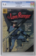 Silver Age (1956-1969):Western, Lone Ranger #129 File Copy (Dell, 1959) CGC NM 9.4 Off-white pages.Photo cover. Overstreet 2006 NM- 9.2 value = $150. CGC c...