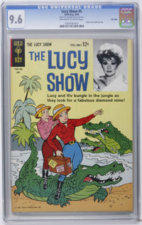 The Lucy Show #5 File Copy (Gold Key, 1964) CGC NM+ 9.6 Off-white to white pages. Photo back cover. Overstreet 2006 NM-...