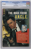 Silver Age (1956-1969):Adventure, Man from U.N.C.L.E. #3 File Copy (Gold Key, 1965) CGC NM 9.4 White pages. Robert Vaughn and David McCallum photo cover. Back...