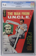Silver Age (1956-1969):Adventure, Man from U.N.C.L.E. #13 File Copy (Gold Key, 1967) CGC NM+ 9.6 Off-white to white pages. Photo cover. Mike Sekowsky art. Ove...