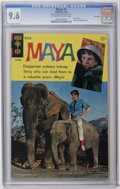 Silver Age (1956-1969):Adventure, Maya #1 File Copy (Gold Key, 1968) CGC NM+ 9.6 Off-white to white pages. Photo cover. Back cover photo pin-up. Highest CGC g...