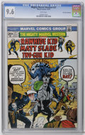 Bronze Age (1970-1979):Western, Mighty Marvel Western #27 Don Rosa Collection pedigree (Marvel, 1973) CGC NM+ 9.6 White pages. This is the only CGC-graded c...
