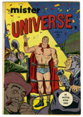 Golden Age (1938-1955):Adventure, Mister Universe #1 (Aragon, 1951) Condition: VG. Overstreet 2006 VG 4.0 value = $44. From the Collection of John McLaughli...