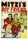 Golden Age (1938-1955):Humor, Mitzi's Boy Friend #2 Mile High pedigree (Marvel, 1948) Condition: NM-. Overstreet 2006 NM- 9.2 value = $145. From the Col...