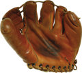 "Movie/TV Memorabilia:Props, Jerry Mathers Baseball Glove from ""Leave It to Beaver"". A vintageRevelation brand child's baseball glove used by Jerry Math...(Total: 1 Item)"