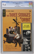 Silver Age (1956-1969):Humor, Movie Comics Three Stooges in Orbit #nn - File Copy (Gold Key, 1962) CGC NM+ 9.6 White pages. Photo cover. Photo pin-up back...