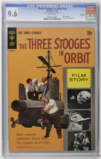 Movie Comics Three Stooges in Orbit #nn - File Copy (Gold Key, 1962) CGC NM+ 9.6 White pages. Photo cover. Photo pin-up...